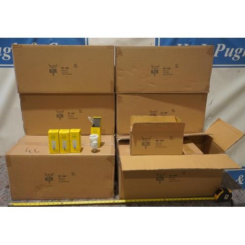 46 - 15W Energy saving bulbs with screw fittings -800 +VAT