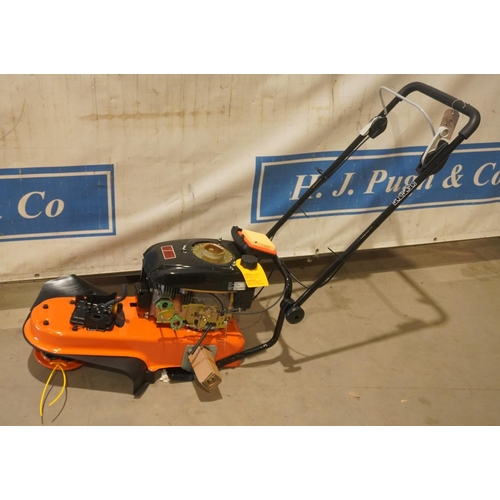 58 - Garden pride field trimmer, no recoil, height guide and wheels. Ex demo +VAT