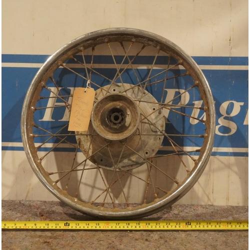 28 - Triumph T150 Trident rear wheel