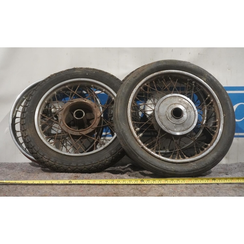 41 - Motorcycle wheels and tyres