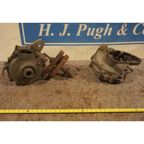 54 - BSA M20 bottom ends and crank case