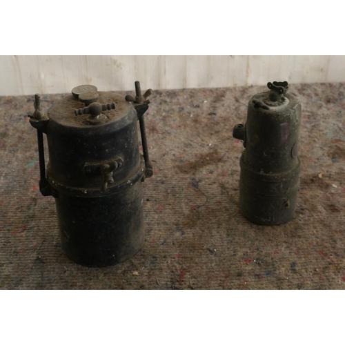 60 - 2 Acetylene lighting generators