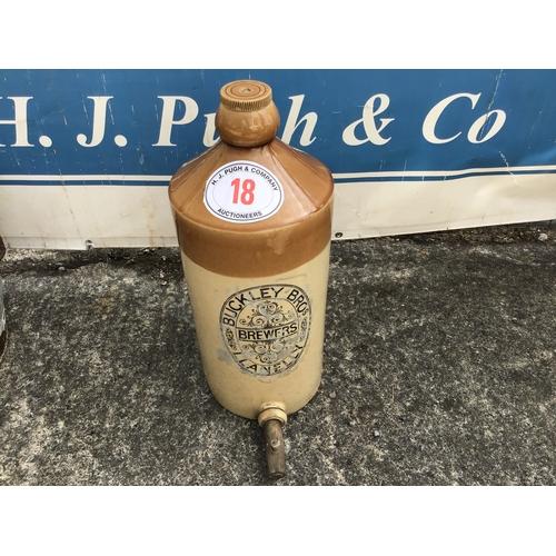 18 - Stone jar, Buckley Brewery, Llanelli
