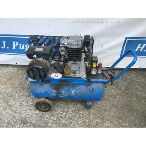 28 - Pro air 50L compressor
