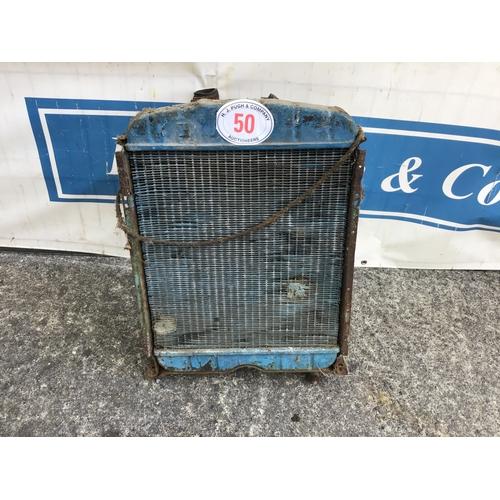 50 - Fordson Major radiator