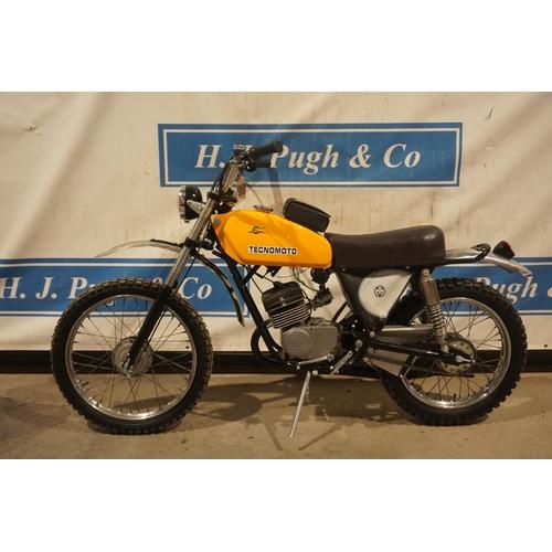 801 - Tecno Moto. 1973, 50cc, fully restored. No docs