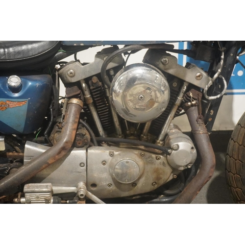 825 - Harley Davidson XLH1000 motorcycle. 1984. American import. New pistons and clutch. Owned for 6 years...