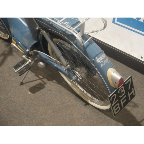 834 - Heinkel autocycle. 2005. This bike was on show at the 2006 VMCC Silver Jubilee show. Reg. 237 BFH. N...