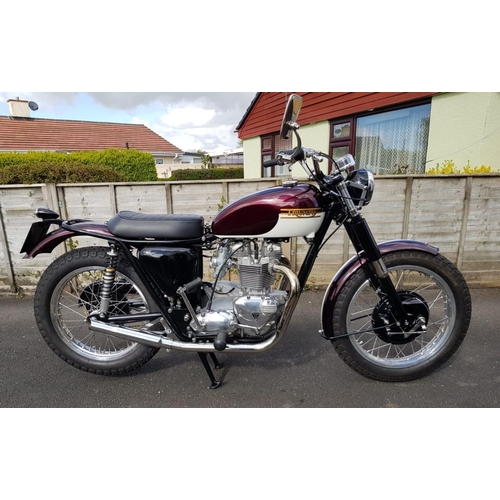 836 - Triumph Bonneville T120R Special.  750cc. Sold originally by Victor Horsman motorcycles in Liverpool...