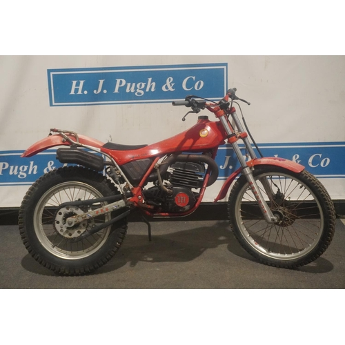 844 - Montesa Cota 335 motorcycle. 1984. Original bike c/w NOVA document