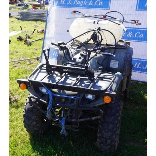 32 - Yamaha Bruin 350 quad. Non runner, deceased estate +VAT