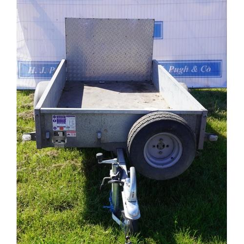 36 - Ifor Williams single axle trailer 7ft