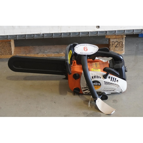 6 - Jobsite CT2298 petrol top handle chainsaw+VAT