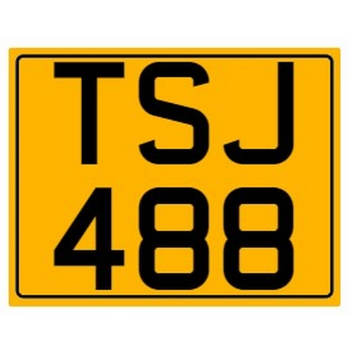 795 - Cherished number plate on retention Reg. TSJ 488 Photograph for illustration purposes only