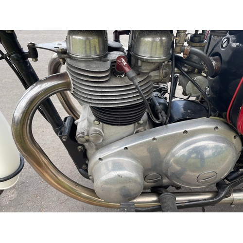 815 - Matchless G12 650cc motorcycle. 1959 Restored a few years ago. Matching numbers. Reg. 519 XVP. V5