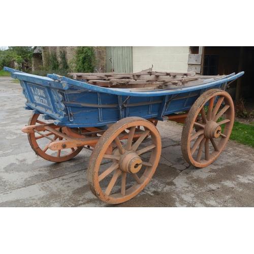 42 - 4 Wheel cart, hay trolley. H.J Davis