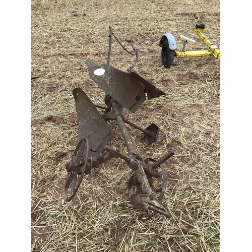 6 - Reversible horse drawn plough