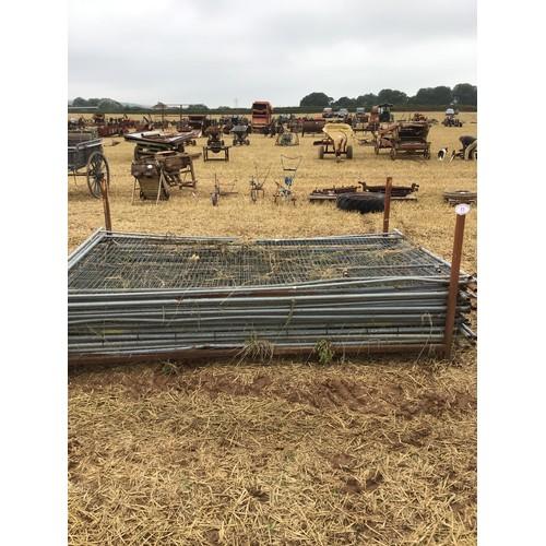 11 - 17 Heras fences