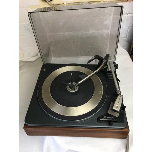11 - a Garrard record player....