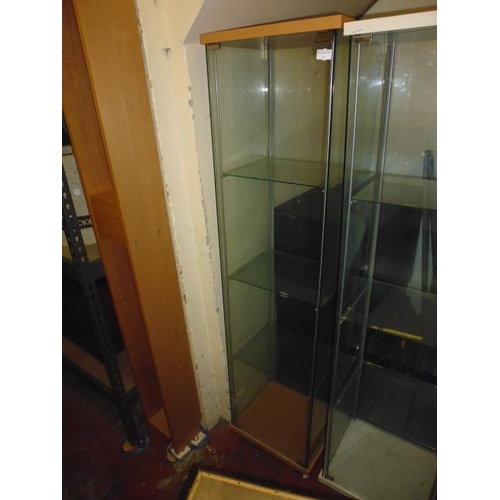 32 - Square Glass Display Cabinet...