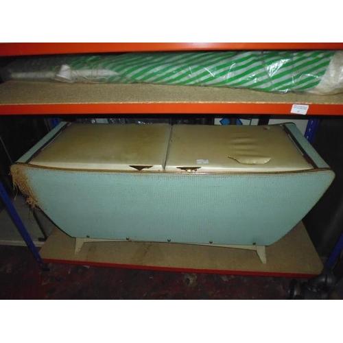 38 - Lloyd Loom Style Blanket A/F...