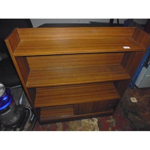 47 - Teak Cupboard With Sliding Door...