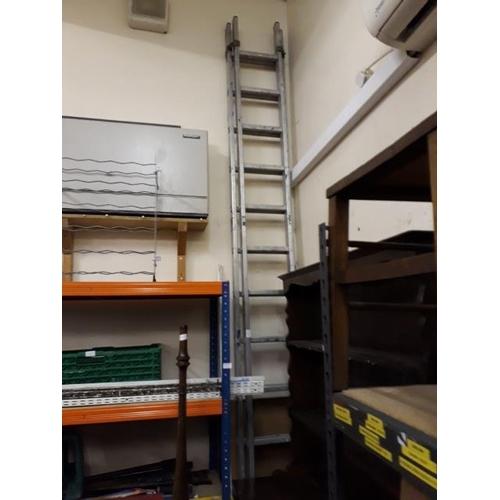 22 - Large Alluminium Ladders...