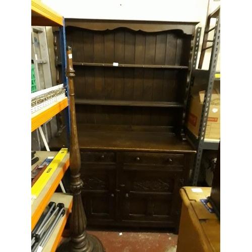 23 - Oak Dresser...