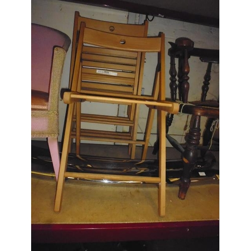 54 - 4 Ikea Folding Chairs...