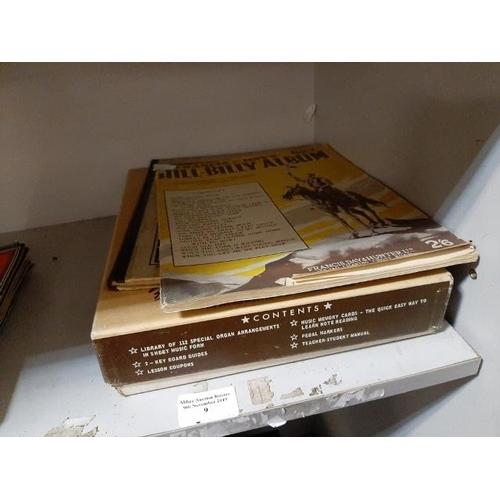 9 - Selection Of Organ Music Books...