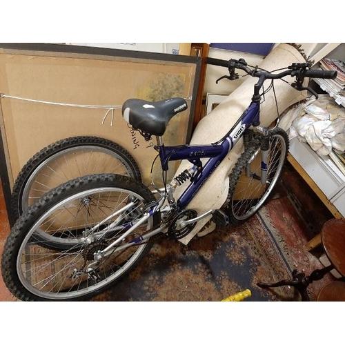 1 - Shoei Apollo Excel Mountain Bike With Spare Wheel