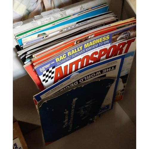 5 - Stack Of Autocar Magazines