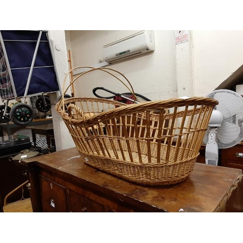 50 - Wicker Moses Basket