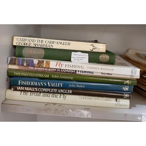 7 - Pile Of Fishing Books