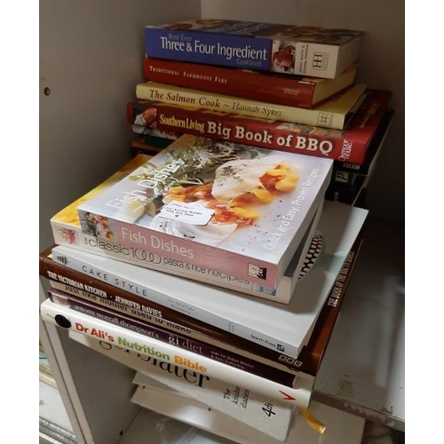 9 - Pile Of Cookery & Recipe Books