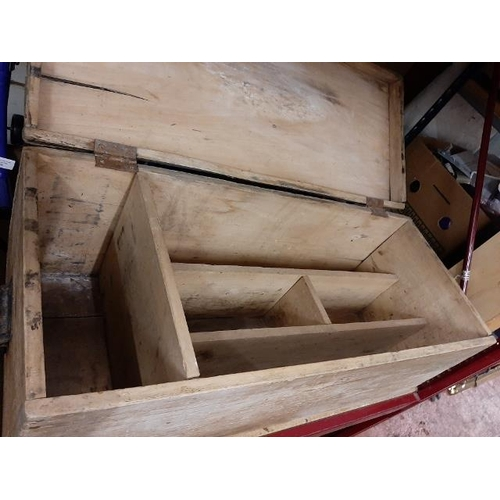59 - Large Wooden Trunk