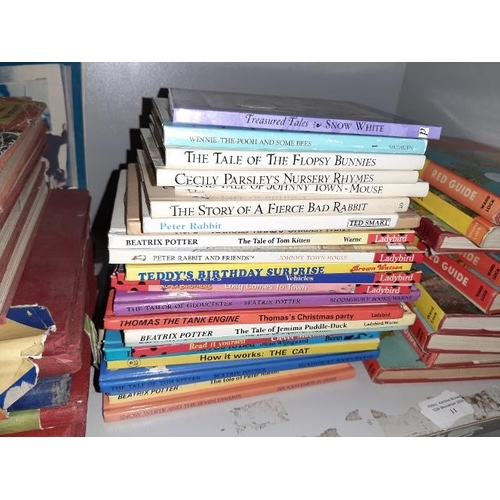 10 - Stack Of Ladybird Children'S Books And Others...