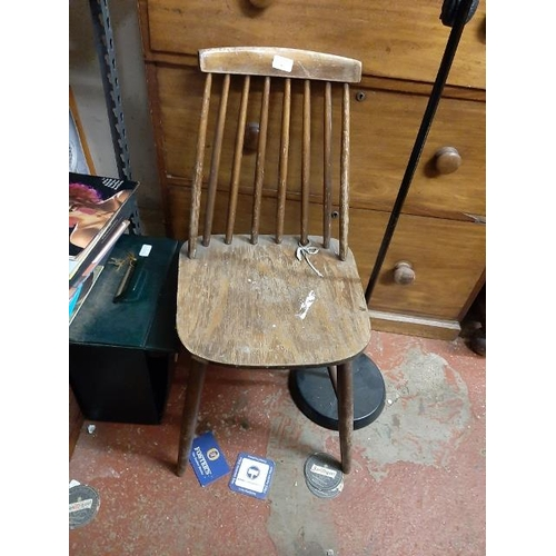 30 - Spindle Back Chair...