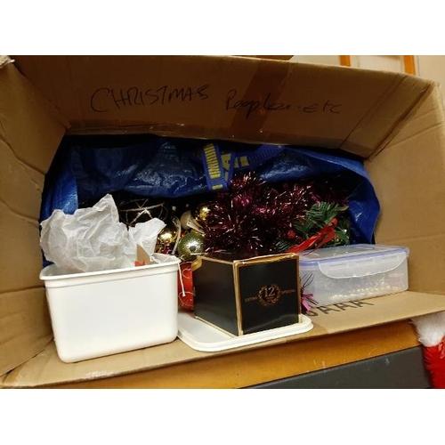 26 - Quantity Of Christmas Decorations...