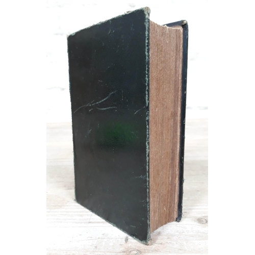 271 - Book of Mormon, 4th edition, 1st European edition 1841, J Tompkins, Liverpool, plain green calf leat...