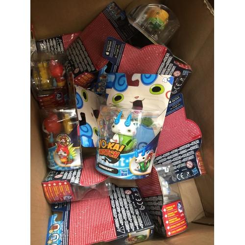 43 - A box of Yo-Kai Watch toys...