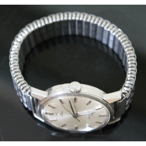 101 - A 1960s Omega Seamaster 30 stainless steel wrist watch with stainless steel 'Fixo-Flex' expandable  ...
