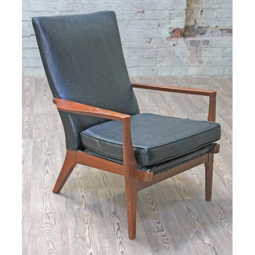 27 - A Parker Knoll armchair.  (This item may not comply with the Furniture and Furnishings (Fire) Regula...