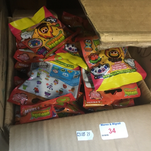 9 - A box of Moshi Monster collectable figures...