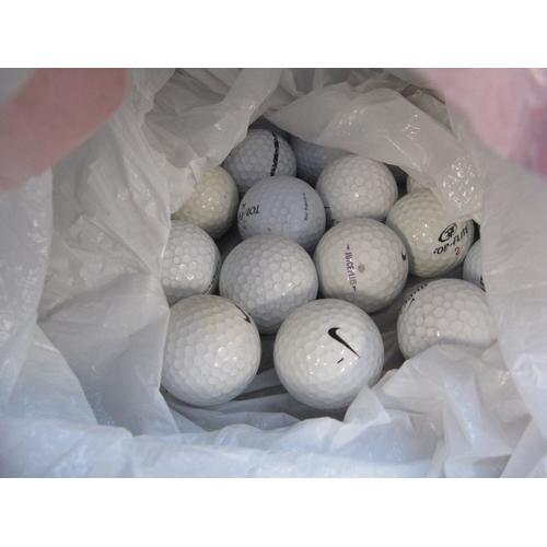 3 - A bag with quantity of golf balls...