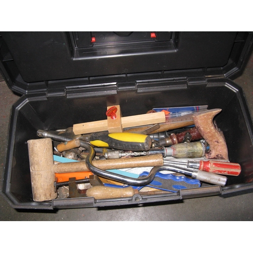 44 - A tool box complete with tools...