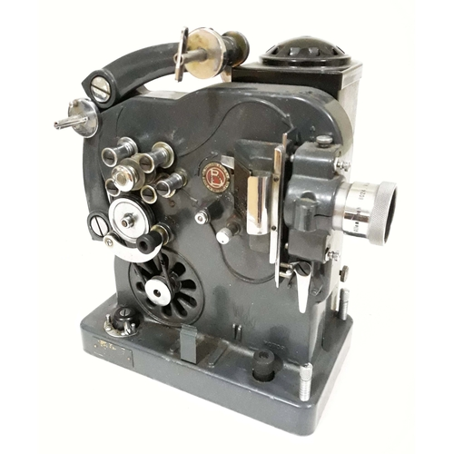 733 - A Paillard Model D electric cine projector....