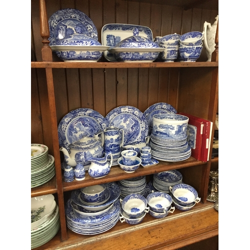 780 - Copeland Spode's and Spode Italian dinner ware approx. 100 pieces...