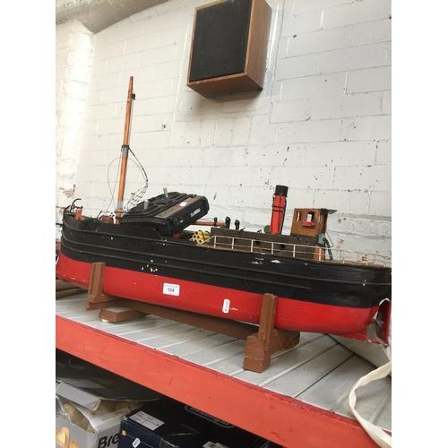 104 - A remote control model trawler...