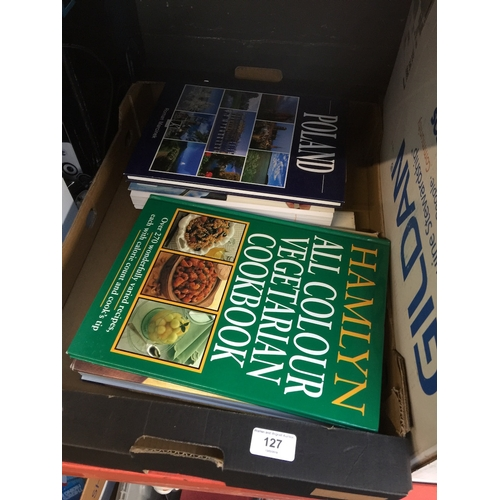 127 - Quantity of cooking books...
